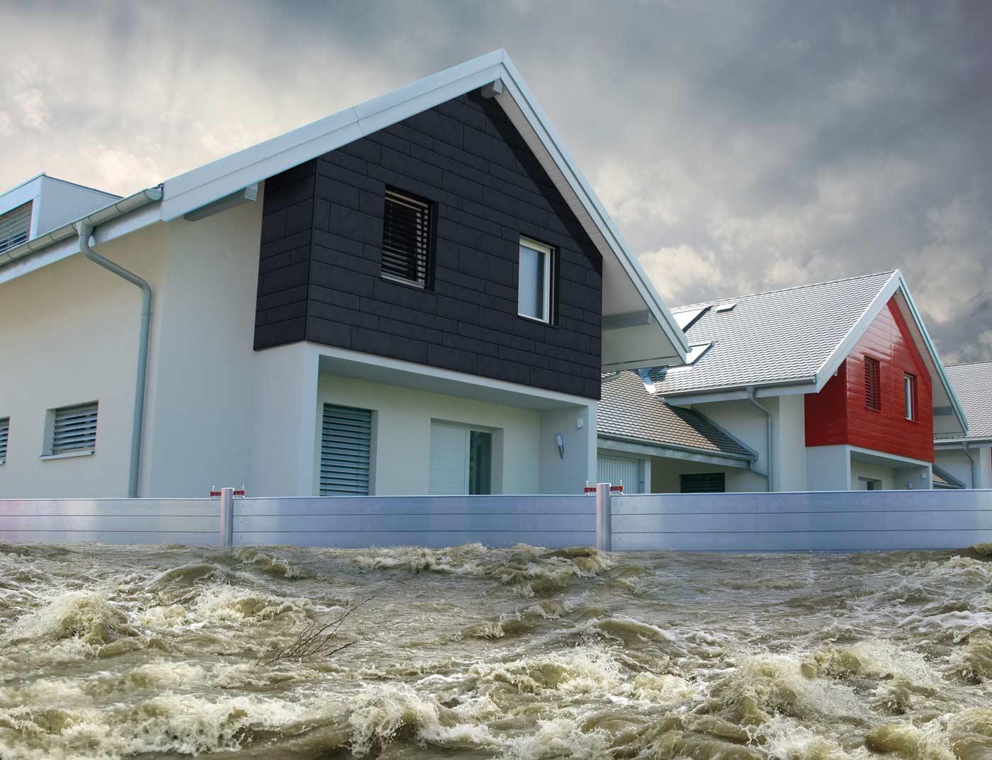 Demountable Flood Barrier Prefa