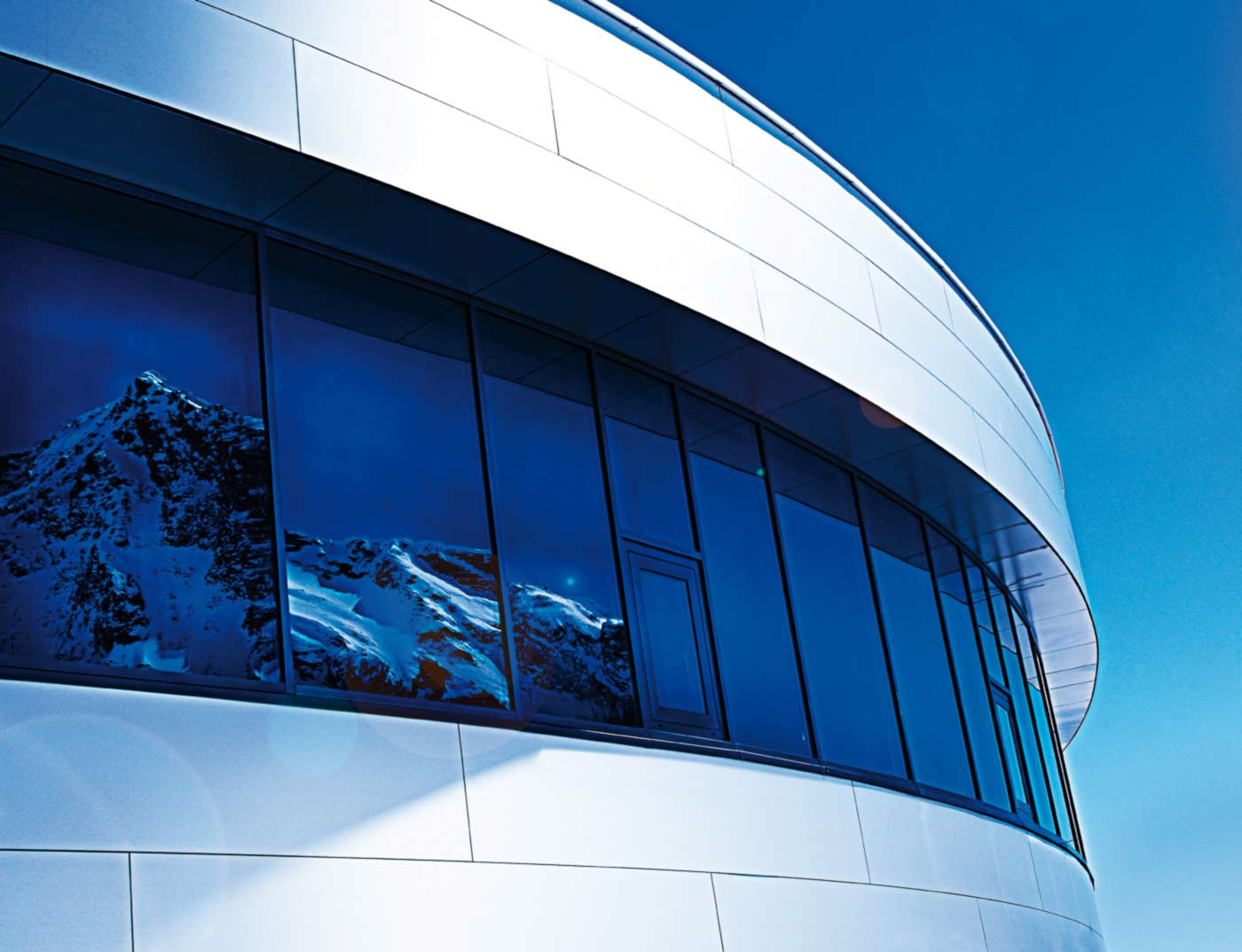 Reference buildings PREFA Façade systems Aluminium composite panel 27 brushed aluminium (own colour)