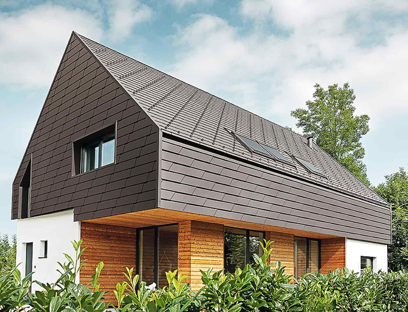 xl fa ade shingle prefa. Black Bedroom Furniture Sets. Home Design Ideas